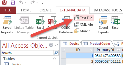 Tab Delimited Format Example on csv vs, file type,