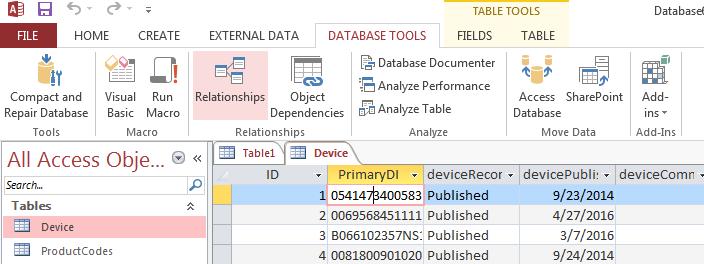 AccessGUDID - Importing Delimited Device Files Into Microsoft Access