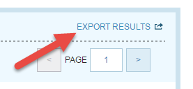 Export Results Button
